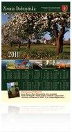 kalendarz planszowy - Ziemia Dobrzyńska