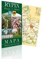 Mapa Rypin (powiat i miasto)